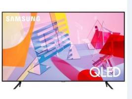 Телевизор QLED Samsung QE55Q60TAUXRU  4K Smart QLED TV