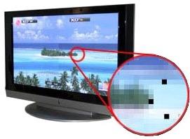 Проверка на битые пиксели ТВ  до 39 дюймов