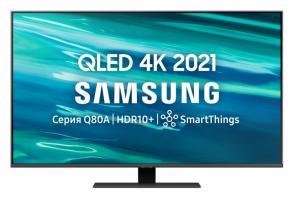 Телевизор QLED Samsung QE55Q80AAUXRU