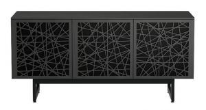 Тумба для ТВ BDI Elements Ricochet Doors, Charcoal (8777)